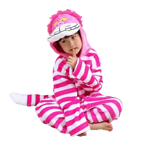 kigurumi chat du cheshire enfant