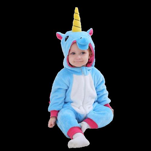 kigurumi licorne bleue bébé