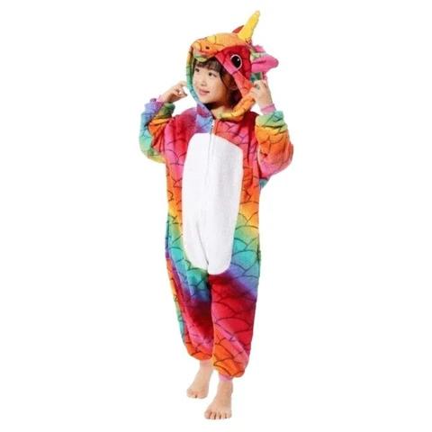 kigurumi licorne multicolore enfant