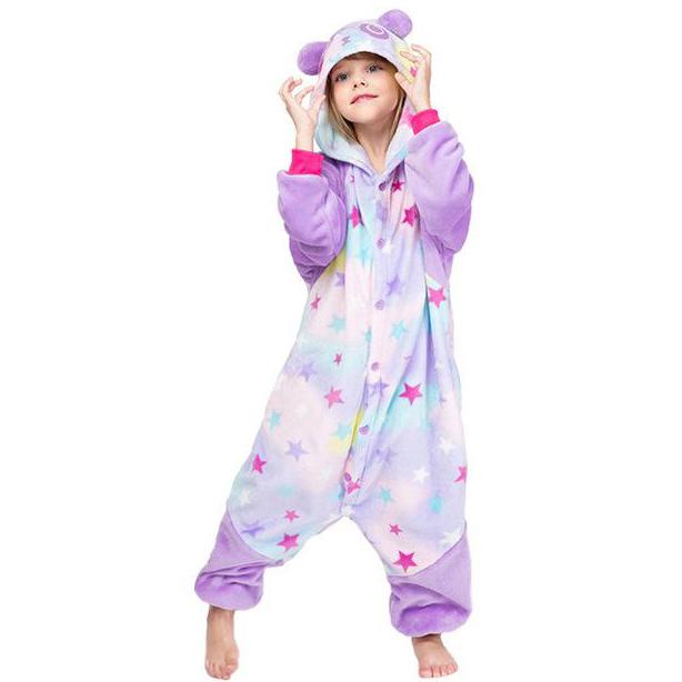 kigurumi panda rêveur enfant
