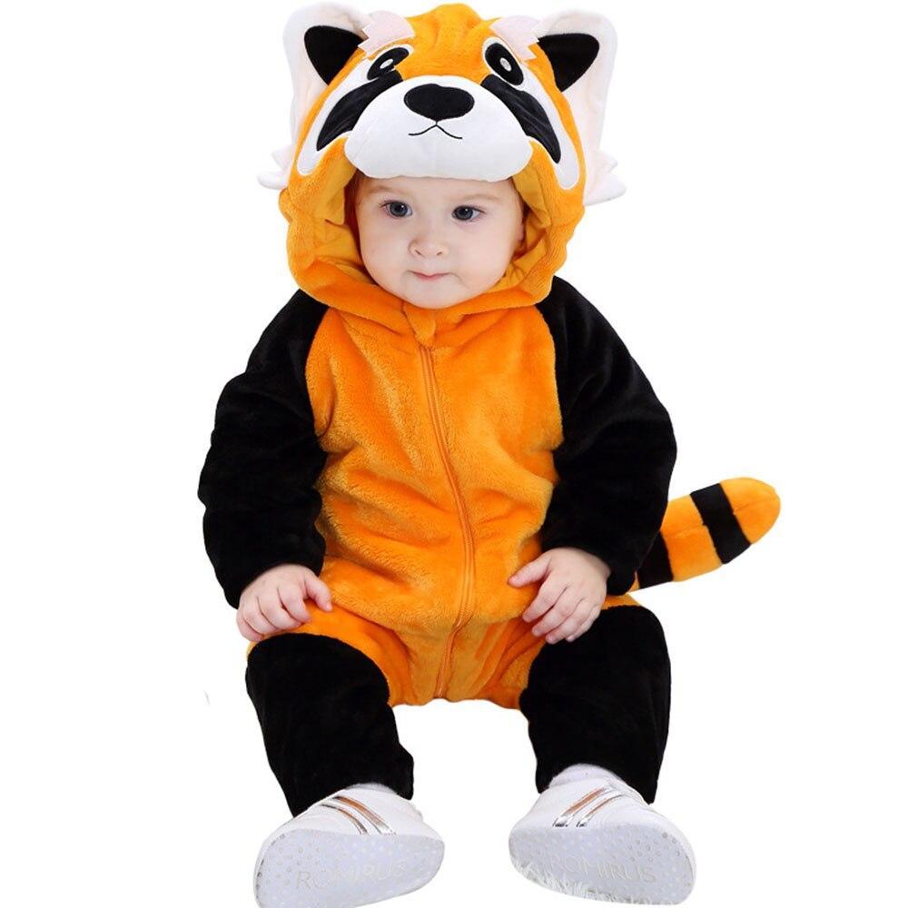 kigurumi panda roux bébé