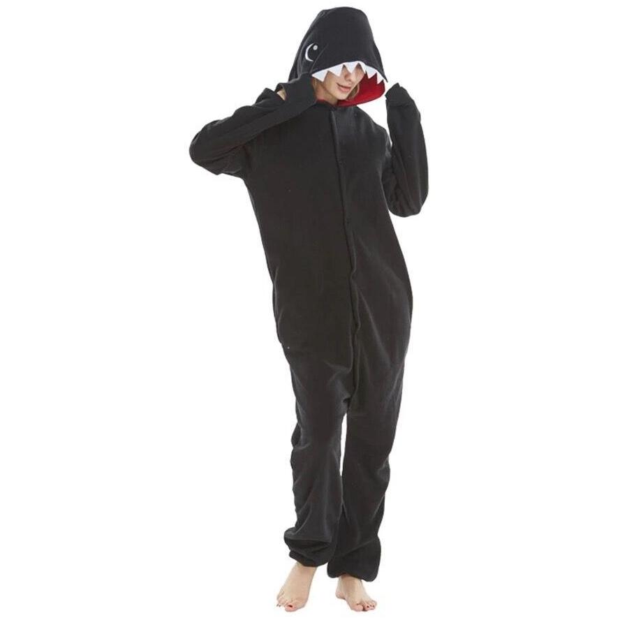 kigurumi requin noir