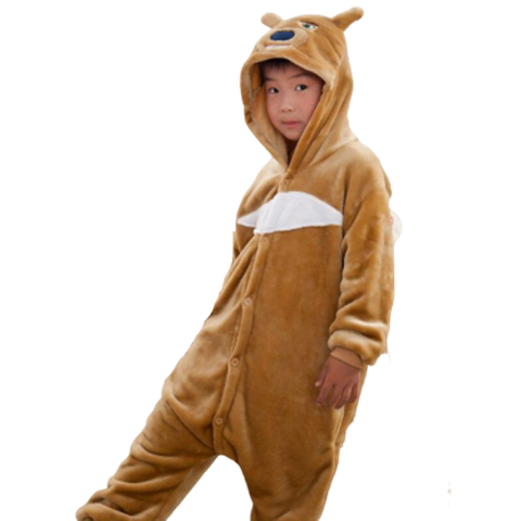 kigurumi ours enfant